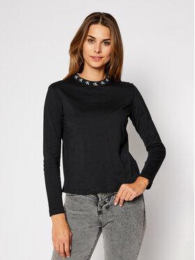 Calvin Klein Jeans Calvin Klein Jeans Bluzka J20J214994 Czarny Regular Fit