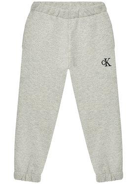 Calvin Klein Jeans Calvin Klein Jeans Pantaloni trening IG0IG00778 Gri Relaxed Fit
