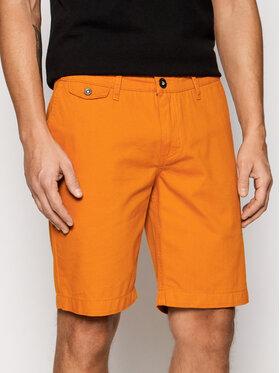 Helly Hansen Helly Hansen Szorty materiałowe Bermuda 33940 Pomarańczowy Regular Fit