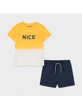 Mayoral Mayoral Set T-Shirt und Shorts 1669 Bunt Regular Fit