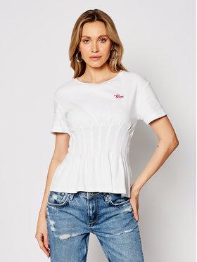 Guess Guess Póló Alyssa Tee W1GI83 K8HT1 Fehér Slim Fit