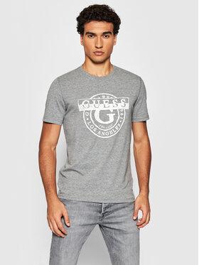 Guess Guess T-Shirt M1BI35 J1311 Šedá Slim Fit