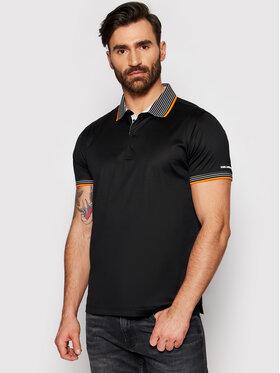 KARL LAGERFELD KARL LAGERFELD Тениска с яка и копчета 745002 511200 Черен Regular Fit