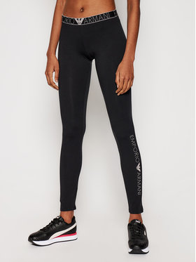 Emporio Armani Underwear Emporio Armani Underwear Leggings 164162 1P227 00020 Fekete Slim Fit