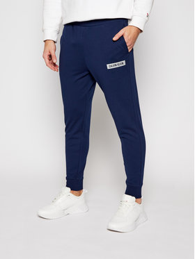Calvin Klein Performance Calvin Klein Performance Παντελόνι φόρμας 00GMF0P751 Σκούρο μπλε Regular Fit