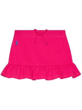 Polo Ralph Lauren Polo Ralph Lauren Szoknya Mesh Scooter 311837115001 Rózsaszín Regular Fit