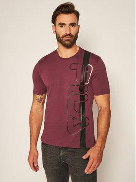 Fila Fila T-Shirt Larus 683188 Dunkelrot Regular Fit