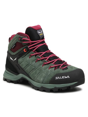 Salewa Salewa Chaussures de trekking Ws Alp Mate Mid Wp 61385-5085 Vert