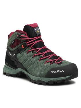 Salewa Salewa Trekkings Ws Alp Mate Mid Wp 61385-5085 Verde