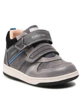 Geox Geox Зимни обувки B New Flick B. A B161LA 022ME C0043 S Сив
