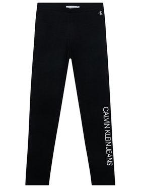 Calvin Klein Jeans Calvin Klein Jeans Legíny Institutional IG0IG00559 Čierna Slim Fit