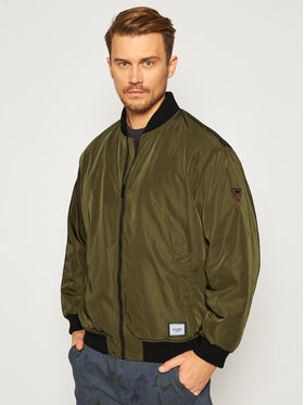 Guess Guess Bomber M0BL60 WDCF0 Verde Regular Fit