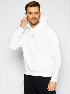 Calvin Klein Jeans Calvin Klein Jeans Bluza J30J317388 Biały Regular Fit