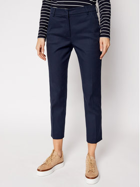Weekend Max Mara Weekend Max Mara Pantaloni chino Vite 51310317 Bleumarin Slim Fit
