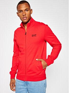 EA7 Emporio Armani EA7 Emporio Armani Sweatshirt 8NPM01 PJ05Z 1451 Rot Regular Fit