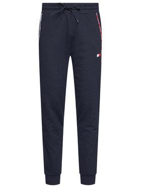 Tommy Sport Tommy Sport Teplákové kalhoty Piping Fleece Cuffed Pant S20S200462 Tmavomodrá Regular Fit