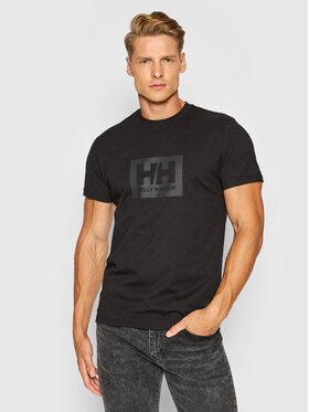 Helly Hansen Helly Hansen T-Shirt Box 53285 Czarny Regular Fit