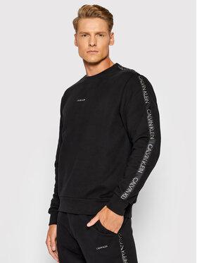 Calvin Klein Calvin Klein Суитшърт Silver Logo K10K106727 Черен Regular Fit