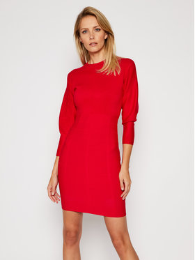 Guess Guess Плетена рокля Daisy W0BK0U Z26I0 Червен Slim Fit