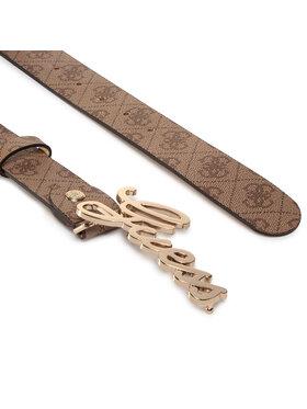 Guess Guess Dámský pásek Digital (SB) Belts BW7275 VIN35 Hnědá