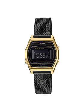 Casio Casio Часовник Vintage LA690WEMB-1BEF Черен