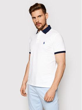 Polo Ralph Lauren Polo Ralph Lauren Polo Ssl 710823421002 Biały Slim Fit