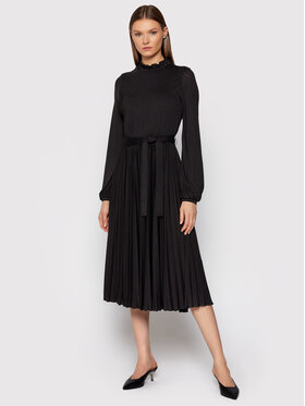 Marella Marella Každodenné šaty Sirio 36260317 Čierna Regular Fit