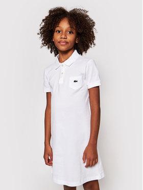 Lacoste Lacoste Sukienka codzienna EJ2816 Biały Regular Fit