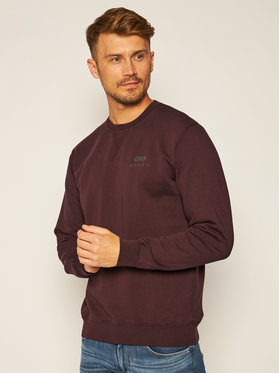 Edwin Edwin Sweatshirt Base Crew I025854 TG1271P PUC67 Bordeaux Regular Fit