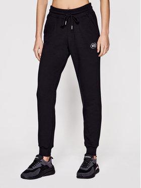 PLNY LALA PLNY LALA Spodnie dresowe Kiss PL-SP-SE-00012 Czarny Regular Fit