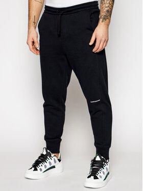 Calvin Klein Jeans Calvin Klein Jeans Teplákové nohavice J30J317688 Čierna Regular Fit