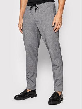 Selected Homme Selected Homme Kalhoty z materiálu Connor 16078496 Šedá Slim Fit