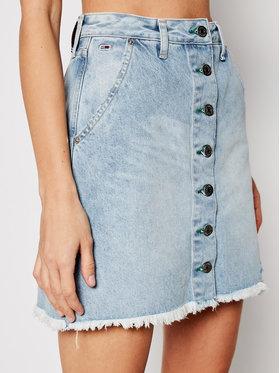 Tommy Jeans Tommy Jeans Spódnica jeansowa A-Line DW0DW10096 Niebieski Regular Fit