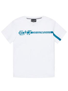 EA7 Emporio Armani EA7 Emporio Armani T-shirt 3KBT58 BJ02Z Bianco Regular Fit