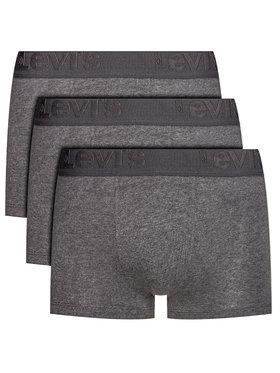 Levi's® Levi's® Súprava 3 párov boxeriek 905042001 Sivá