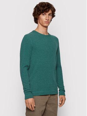 Boss Boss Тениска с дълъг ръкав Tempest 50401846 Зелен Slim Fit