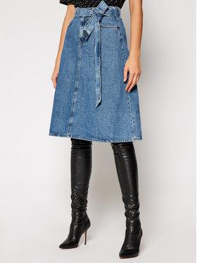 Pepe Jeans Pepe Jeans Džinsinis sijonas PEPE ARCHIVE Annabelle PL900900 Mėlyna Regular Fit