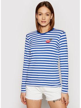 PLNY LALA PLNY LALA Bluză Kiss French PL-LS-FF-00011 Colorat Regular Fit