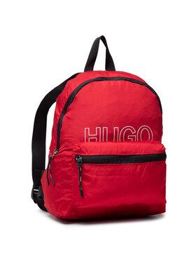Hugo Hugo Kuprinė Reborn Backpack 50452695 10231109 01 Raudona