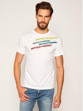 Emporio Armani Emporio Armani T-Shirt 211818 0P473 00010 Biały Regular Fit