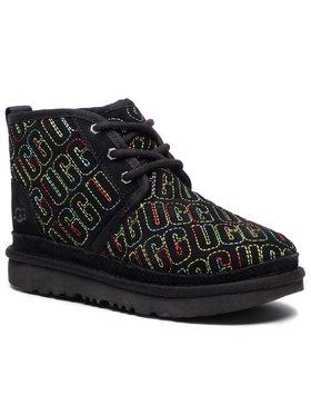 Ugg Ugg Kotníková obuv K Neumel II Graphic Stitch 1116170K Černá