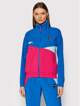 Puma Puma Átmeneti kabát International 589839 Kék Regular Fit