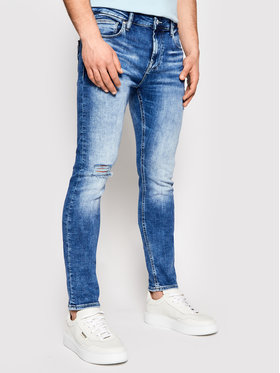 Guess Guess Jean Chris M1GA27 D4CH2 Bleu Slim Fit