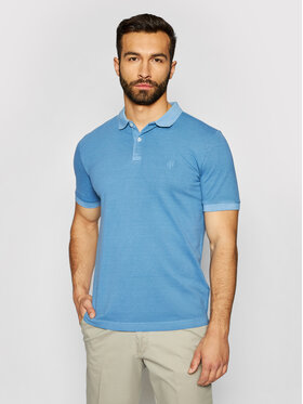 Marc O'Polo Marc O'Polo Polo 123 2496 53190 Bleu Shaped Fit