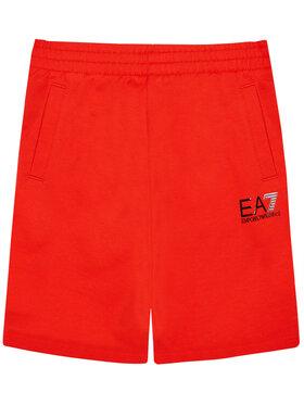 EA7 Emporio Armani EA7 Emporio Armani Pantaloni scurți sport 3KBS51 BJ05Z 1485 Roșu Regular Fit