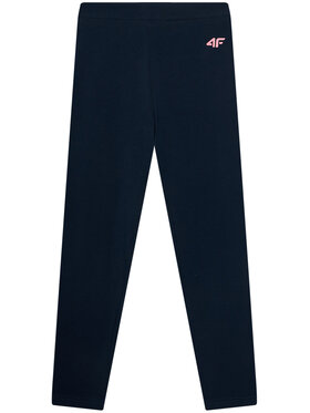 4F 4F Leggings JLEG001A Bleu marine Slim Fit