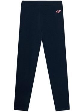 4F 4F Leginsai JLEG001A Tamsiai mėlyna Slim Fit