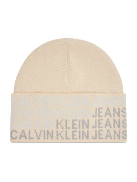 Calvin Klein Calvin Klein Kepurė Beanie K60K608677 Smėlio
