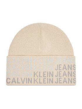 Calvin Klein Calvin Klein Sapka Beanie K60K608677 Bézs