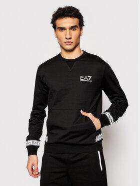 EA7 Emporio Armani EA7 Emporio Armani Majica dugih rukava 3KPM22 PJ05Z 1200 Crna Regular Fit